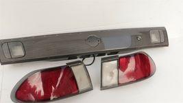 98-99 Nissan Sentra B14 Tail Lights & Center Reflector Panel Carbon Fiber Look image 6