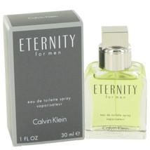 ETERNITY by Calvin Klein Eau De Toilette Spray 1 oz (Men) - $30.44