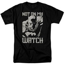 Batman t-shirt DC Comics superhero Not on my Watch graphic tee BM2866 image 1