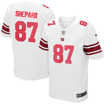 Men Sterling Shepard #87 New York Giants Nike Football Jersey Stitched W... - $36.99