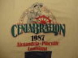 Vintage 80's 1987 Celabration Alaxandria Soft Thin tourist Boat t Shirt L - £12.95 GBP