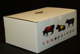 """Cows on Parade """"Broadway"""" Westland Giftware # 9159 AA-191862 Vintage Collectibl image 4"""