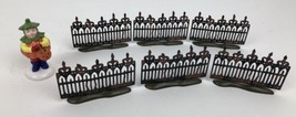 Department 56 Snow Village Spooky Wrought Iron Fence Halloween Set of 6 - ₨1,091.58 INR