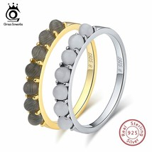 OrsaJewels® 7Pc/Set Cat's Eye Stone Real Women 925 Sterling Silver Rings - $7.90+