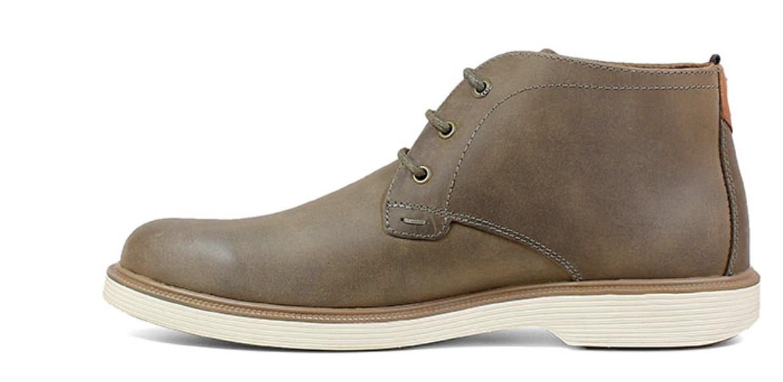 Florsheim Mens Shoes Supacush Plain Toe Chukka Boot Mushroom 13318-051