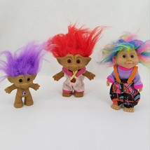 Russ Applause Troll Dolls Belly Jewels Vintage 90's Lot - $21.29