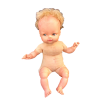 Horsman Vintage Baby Doll 1970 Collections Vinyl Head Arms Legs Soft Cloth Body - $29.69