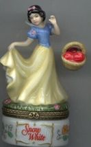 Disney Snow White Hinged Box Porcelain  PHB original box Mint - $115.00