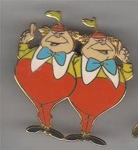 Disney Tweedle Dee and Dum  form Alice  in Wonderland  pin/pins - $33.85