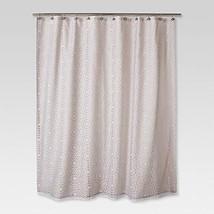 Threshold™ Geometric Burnout Shower Curtain - Tan - $32.22