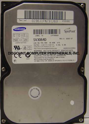 SV3064D Tested Good Free USA Shipping Samsung 30GB 3.5in IDE Drive