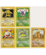 Set of 5 Base Set 2 Rare Pokemon Cards - $10.49