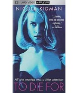 To Die For (UMD, 2009) Nicole Kidman Complete With Case Sony PSP Movie - $10.99