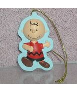 Peanuts Charlie Brown  full body with  Christmas tree ornament - $9.74