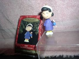 Peanuts Lucy full body  Miniature  Hallmark Keepsake Ornament - $16.89