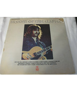Eric Clapton History Of Atco SD 2-803 Stereo Double Vinyl Record LP - $24.99