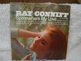 Vintage LP Ray Conniff: Somewhere my Love and Other Great Hits Vinyl Record - £3.96 GBP