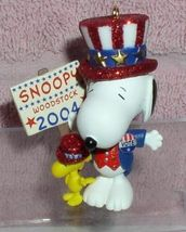 Snoopy dress as Uncle Sam running for president snoopy and Peanuts Min O... - $13.55