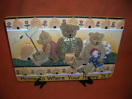 HP Industries Young's Unique Gifts Home Is Where Your Honey Is  Plaque #... - $9.90