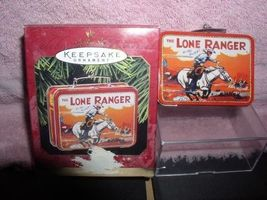 The Lone Ranger Lunch Box Hallmark Keepsake 1997 Ornament - $17.40