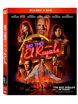 Bad Times At The El Royale [Blu-ray+DVD, 2018]