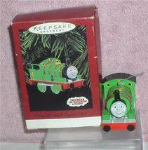 Thomas the Tank Engine Percey dated 1996 Hallmark Keepsake ornament - $14.99