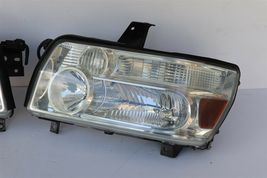04-10 Infiniti QX56 Xenon HID Headlight Head Light Lamps Set LH & RH -POLISHED image 11