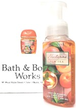 Bath and Body Works Nectarine Sun Tea Hand Soap & PocketBac Retired HTF - $18.20
