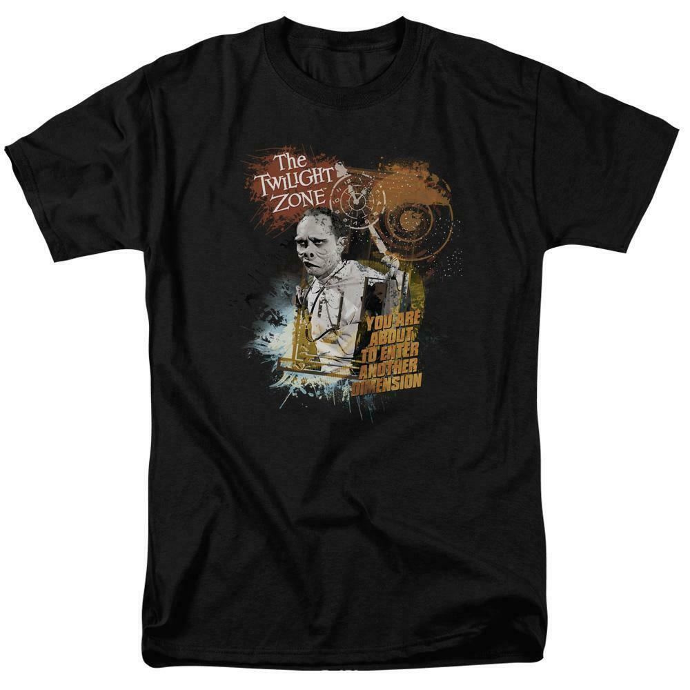The Twilight Zone t-shirt Another Dimension retro Sci-Fi graphic tee CBS765