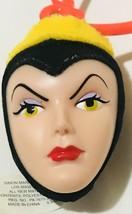 "Plush Disney Snow White Evil Queen Head Key Chain Backpack Decoration 2.5"" - $11.52"