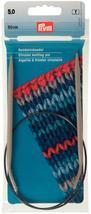 Prym 211292 Circular knitting needles, aluminium, 60cm, 5.00mm, grey - $17.30 CAD