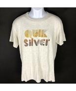 Quiksilver Men's Gray T-Shirt L - $14.84