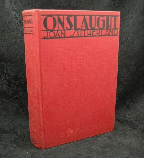 Onslaught by Joan Sutherland 1928 Grosset and Dunlap