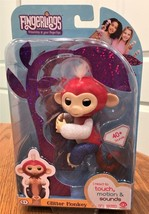 Fingerlings Glitter Monkey Red White & Blue  LIBERTY WooWee Exclusive - $24.54