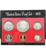 1978-S Proof Set United States US Mint Original Government Packaging Box... - £8.74 GBP