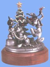 Disney - Goofy - Mickey Minnie - Pewter - Trimming the Tree figurine - $199.00