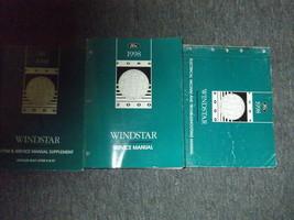 1998 Ford Windstar Mini Van Service Shop Werkstatt Reparatur Manuell Set... - $47.52