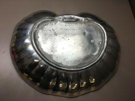 Large Armetale Serving Centerpiece Clam Shaped Bowl image 6