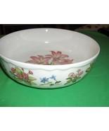 "Noritake  China 7.50"" Veggie Bowl Carnation Gourmet Garden Casual Gourme... - $64.35"