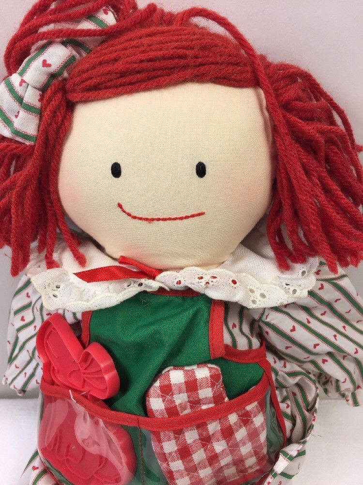 Eden Sweets N Treats Madeline Plush Rag Doll w/ Geneve Cookie Cutter 18""