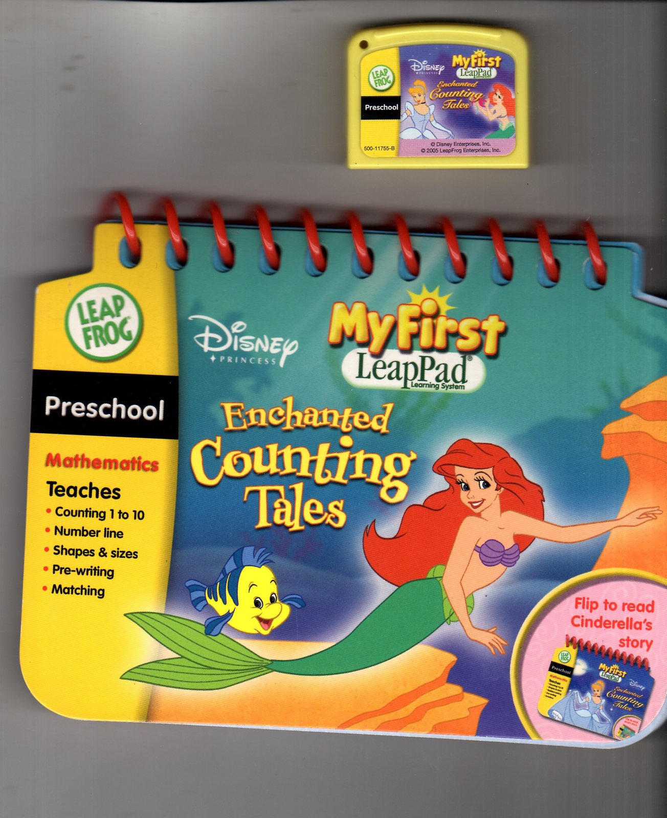 Leap Frog - My First LeapPad -Disney Enchanted Counting Tales