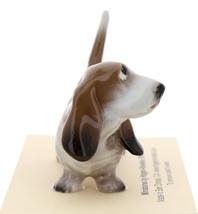 Hagen-Renaker Miniature Ceramic Dog Figurine Basset Hound Papa image 2