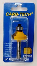 """Carb-Tech CT1069K 1/4"""" Rounding Over Router Bit Carbide Tipped - $5.94"""