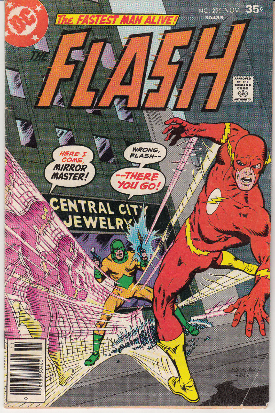 1977 DC Comics The Flash #255