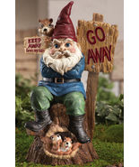 Keep Away From My Nuts! Garden Gnome Figurine - $19.95