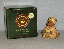 Boyds Bears Bearstone Rosemary Bearhugs TLC #228316 1999 w/box Nurse - $7.99