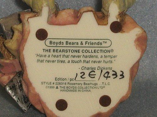Boyds Bears Bearstone Rosemary Bearhugs TLC #228316 1999 w/box Nurse