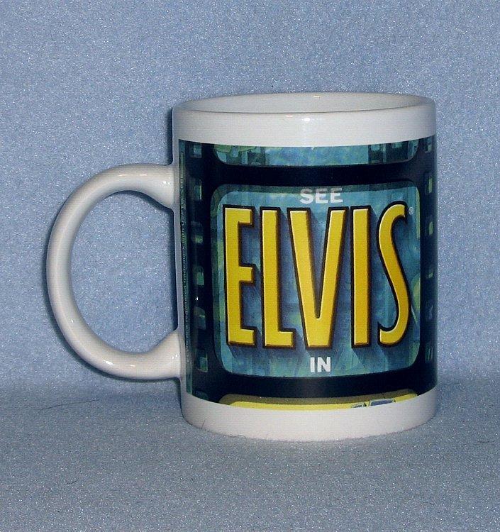 "KWC ""See Elvis in Blue Hawaii"" Coffee Mug"