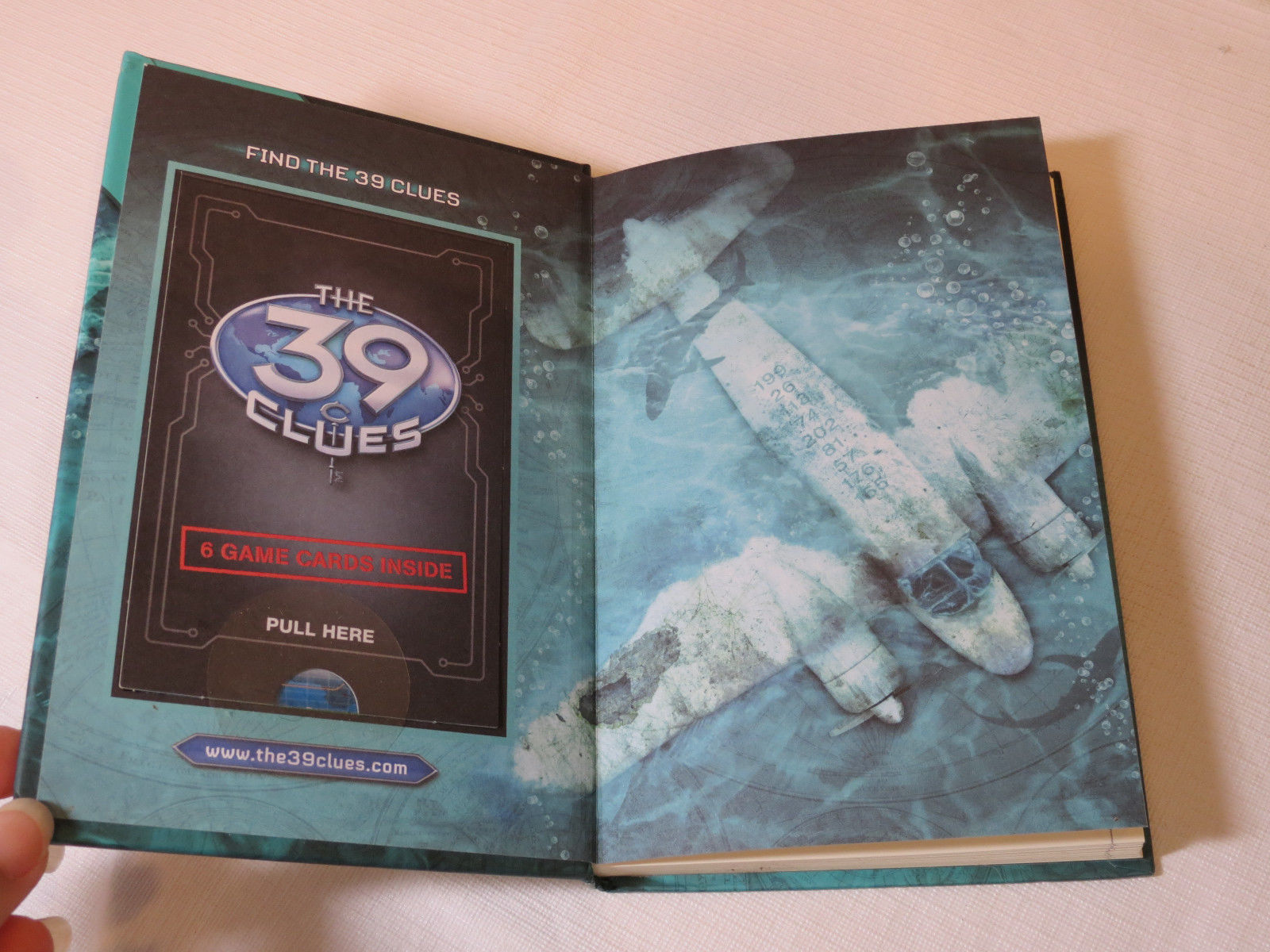 The 39 Clues: In Too Deep 6 by Jude Watson 2009 Hardcover Book Scholastic