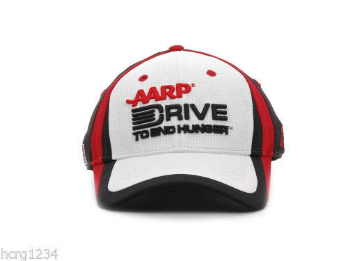 NASCAR XP  SPONSOR RACING CAP/HAT - # 24  JEFF GORDON - AARP DRIVE TO END HUNGER